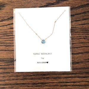 Topaz Necklace by Soulsilk